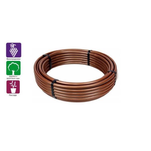 Капельная труба без компенсации давления IrritecJunior 33-100(100м)коричневая